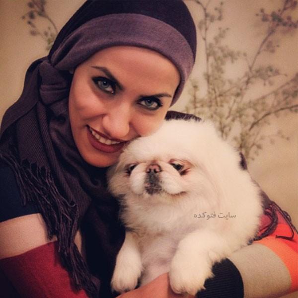 شراره فرنژاد و سگ خانگی اش + بیوگرافی کامل
