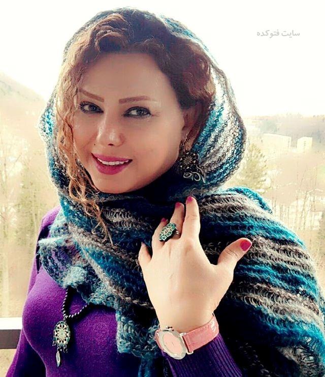 عکس و بیوگرافی شراره درشتی همسر رضا ژیان