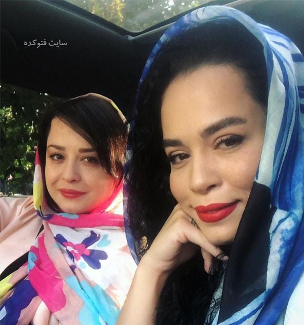 تصاویر (Melika Sharifinia) و خواهرش مهراوه
