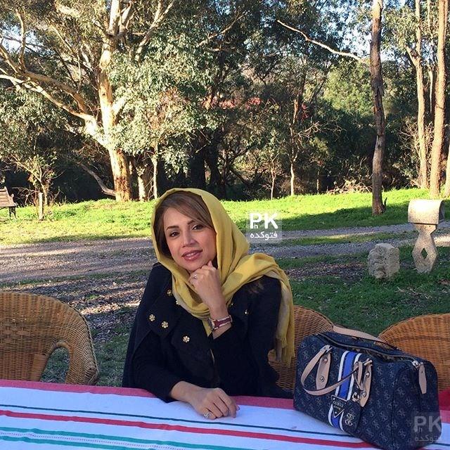 عکس شبنم قلی خانی در استرالیا,عکس خوش گذرانی شبنم قلی خانی در استرالیا,عکس شبینم قلی خانی و همسرش در استرالیا,شبنم قلی خانی و همسرش در باغ نارنج,بازیگر زن,عکس شبنم قلی خانی در استرالیا با همسرش در حال خوش گذرانی