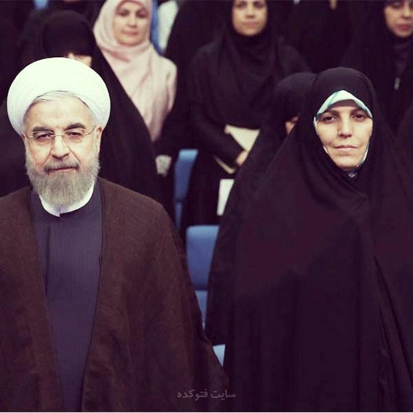 دو نما از حسن روحانی: بیوگرافی شهیندخت مولاوردی و همسرش + زندگی شخصی