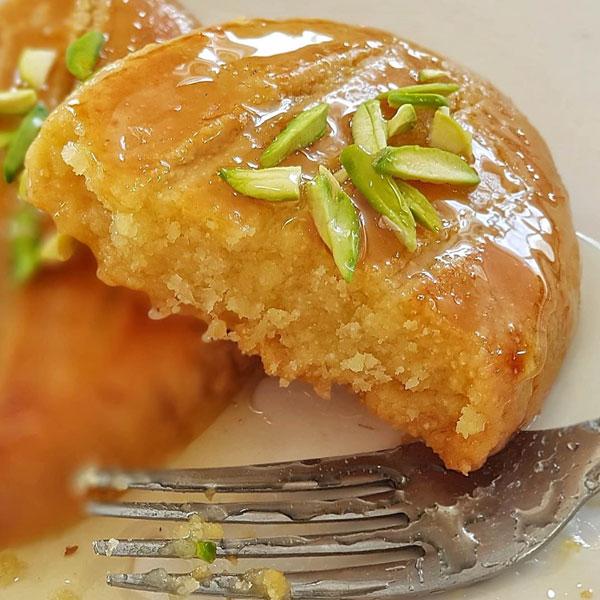 طرز تهیه شیرینی شکر پاره اصل ترکیه در خانه