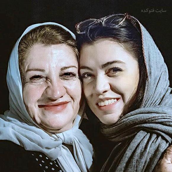 عکس های شیدا خلیق و مادرش ناهید مسلمی + بیوگرافی