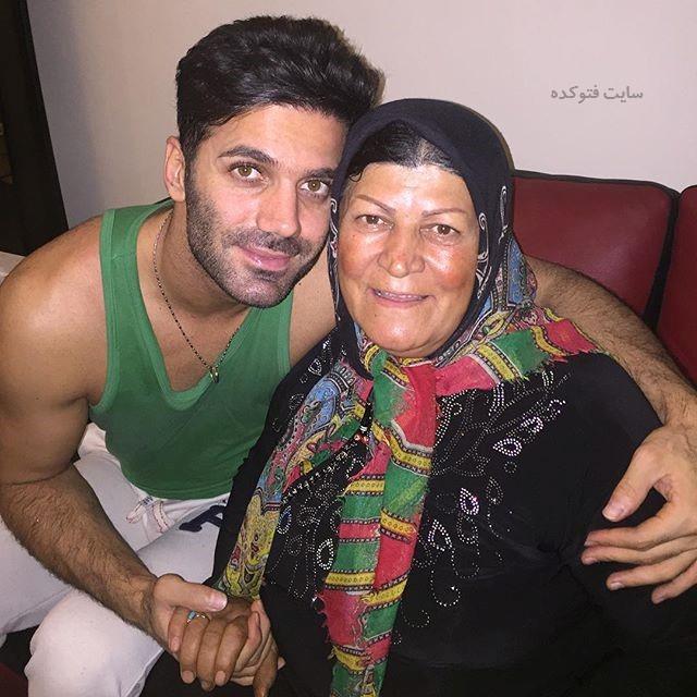 عکس شیث رضایی و مادرش + بیوگرافی