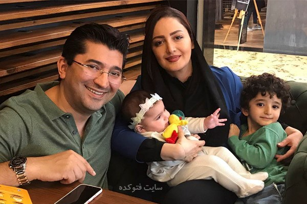 عکس خانوادگی شیلا خداداد + سامیار و ساتین فرزندانش