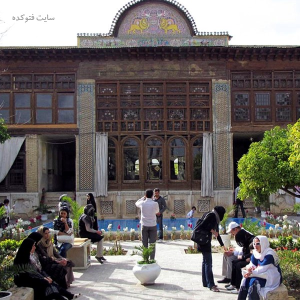 جاهای دیدنی شیراز : خانه زینت الملک + عکس و آدرس کامل