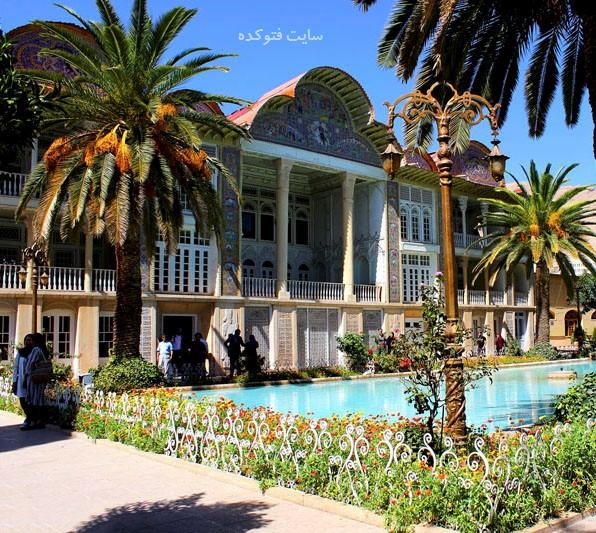 جاهای دیدنی شیراز : باغ ارم + عکس و آدرس کامل