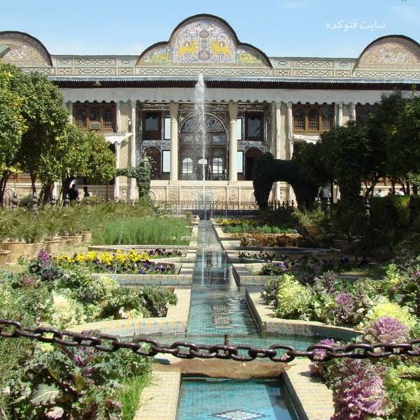 جاهای دیدنی شیراز : باغ نارنجستان قوام + عکس و آدرس کامل