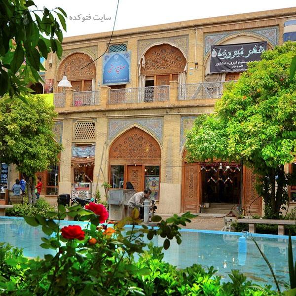 جاهای دیدنی شیراز : سرای مشیری + عکس و آدرس کامل