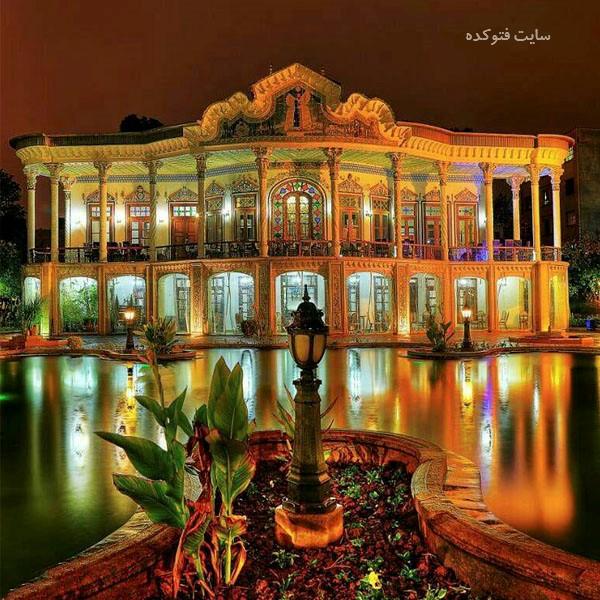 جاهای دیدنی شیراز : خانه شاپوری + عکس و آدرس کامل