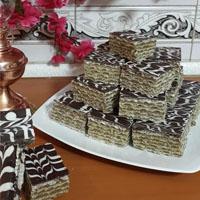 طرز تهیه شیرینی میکادو خانگی بدون فر شکلاتی