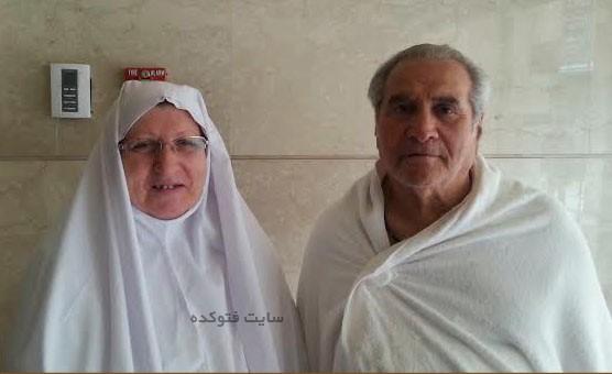 عباس شیرخدا و همسرش مهین قربانپور
