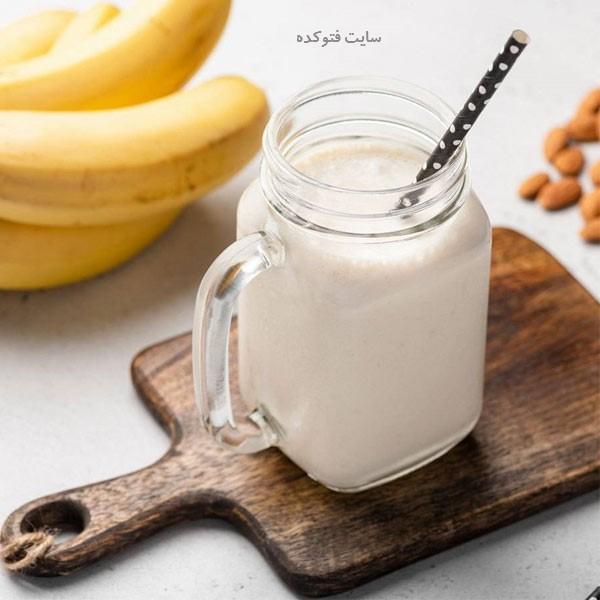 خواص شیر موز برای بدنسازی و ورزشکاران