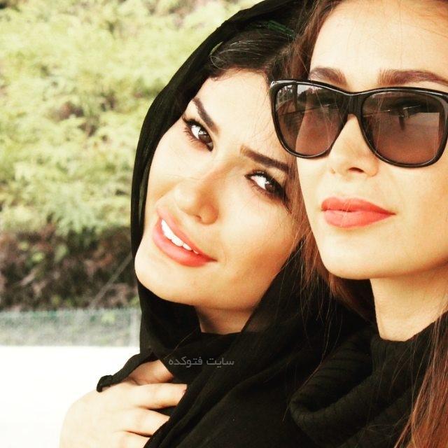 شیوا طاهری و خواهرش + بیوگرافی کامل