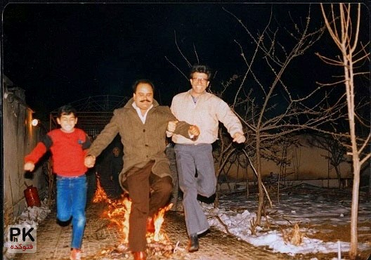 چهارشنبه سوری محمدرضا شجریان و اکبری عبدی