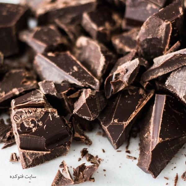 شکلات تلخ برای لاغری و کاهش وزن