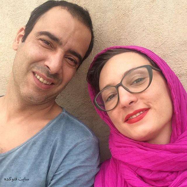 بیوگرافی عکس نیما فلاح و همسرش سحر ولدبیگی