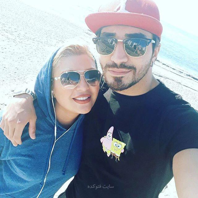 عکسشهرزاد عبدالمجید و خواهرزادش