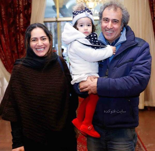 همسر سیامک صفری + عکس دخترش