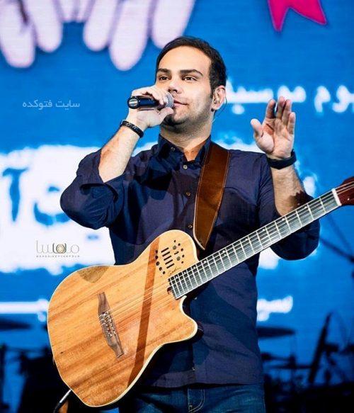 سیامک عباسی خواننده پاپ