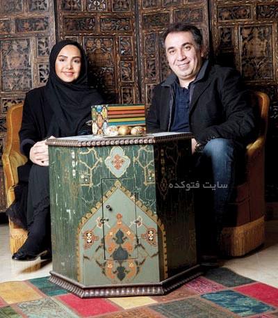 عکس سیامک انصاری و طناز هادیان همسرش + بیوگرافی