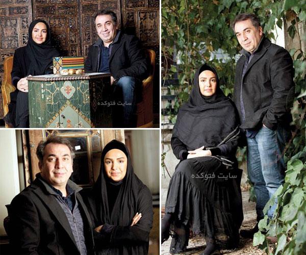 عکس طناز هادیان همسرش سیامک انصاری با بیوگرافی کامل