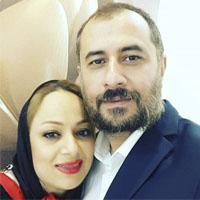 سیاوش مفیدی و همسرش شیوا + زندگی شخصی
