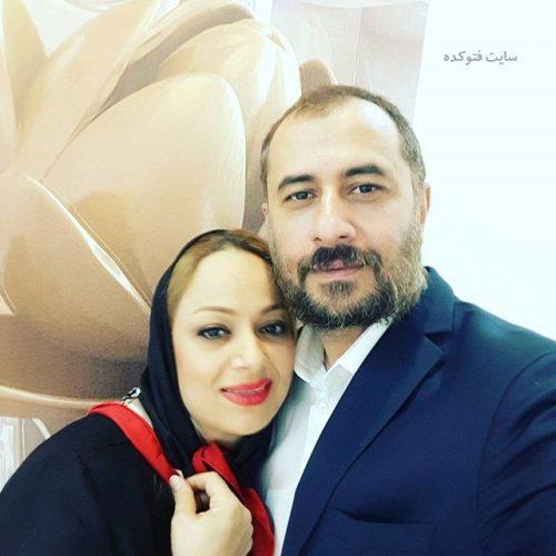 عکس سیاوش مفیدی و همسرش شیوا سلیمی + بیوگرافی