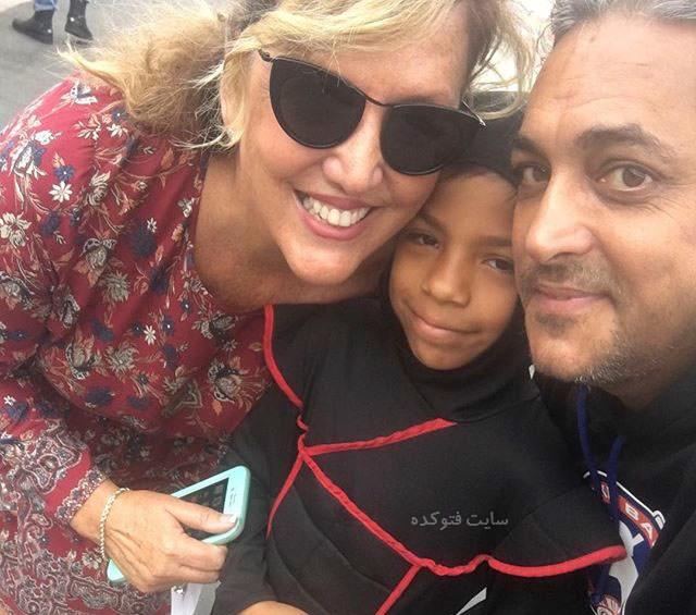 عکس سیاوش شمس و همسرش - عکس سیاوش صحنه و همسرش