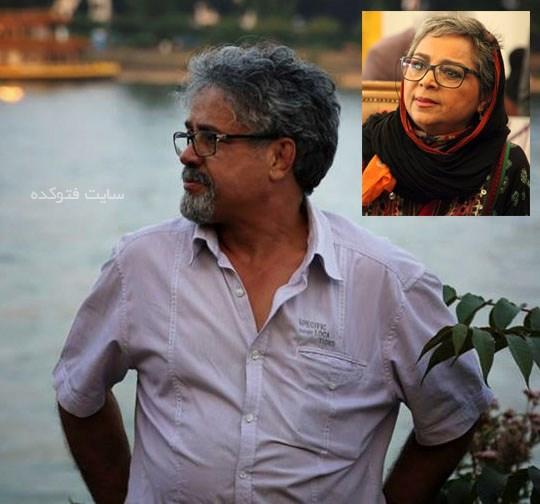 عکس سیما بینا و همسرش حسن زارع