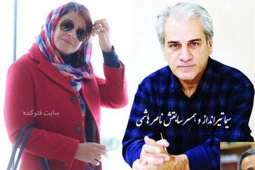 سیما تیرانداز و همسر سابقش ناصر هاشمی + علت طلاق و جدایی