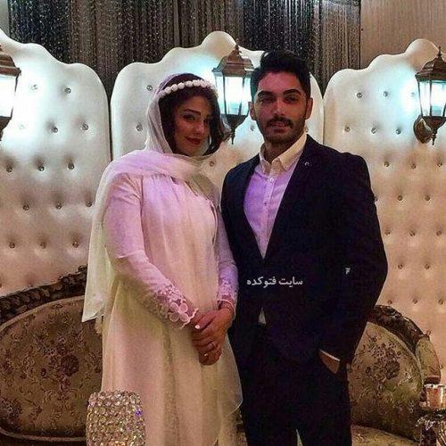 سیما خضرآبادی و همسرش + بیوگرافی کامل و عکس عروسی