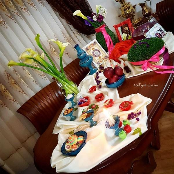 عکس مدل چینش هفت سین نوروز ۹۹