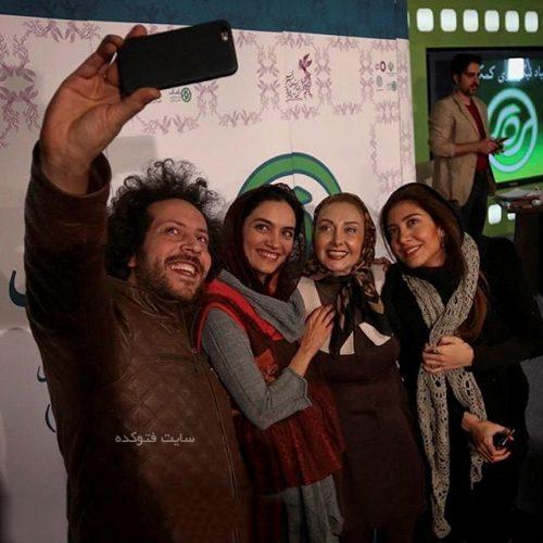 سینا حجازی و بازیگران زن