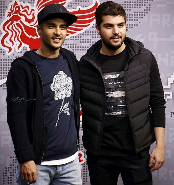 عکس های سینا مهراد و برادرش ساعد سهیلی