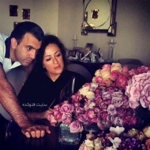 سینا ولی الله و همسرش دکتر ثمینه شهیم
