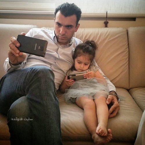 سینا ولی الله و دخترش دیبا