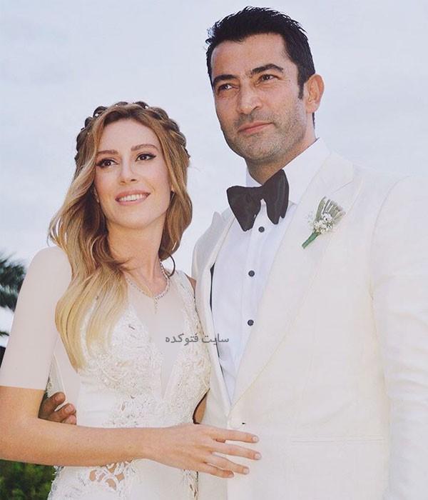 سینم کوبال و همسرش