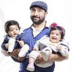 بیوگرافی مجید صالحی و همسرش رامینه اکبری خادم + دوقلوهایش