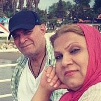بیوگرافی سیروس گرجستانی و همسرش (اول و دوم) با عکس
