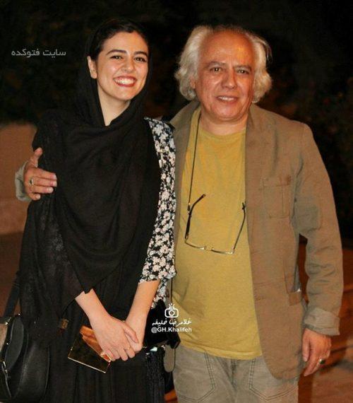بیوگرافی سیروس الوند و همسرش زهرا جناب + عکس خانوادگی