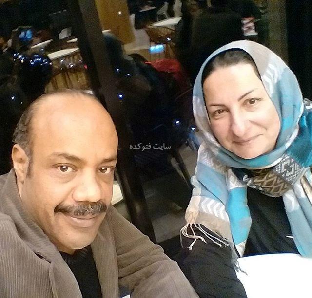 عکس سیروس کهوری نژاد و همسرش آذر طهماسب نظامی + بیوگرافی کامل