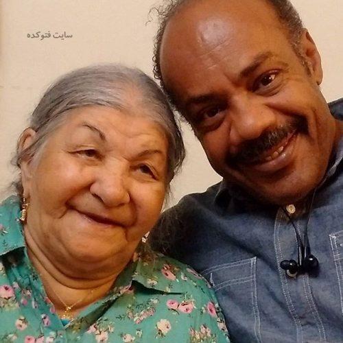عکس سیروس کهوری نژاد و مادرش پروین خدا پناه + بیوگرافی کامل