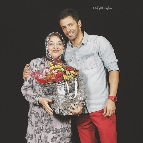 عکس سیروان خسروی و مادرش + بیوگرافی کامل