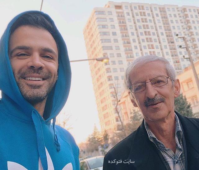 عکس سیروان خسروی و پدرش + بیوگرافی کامل