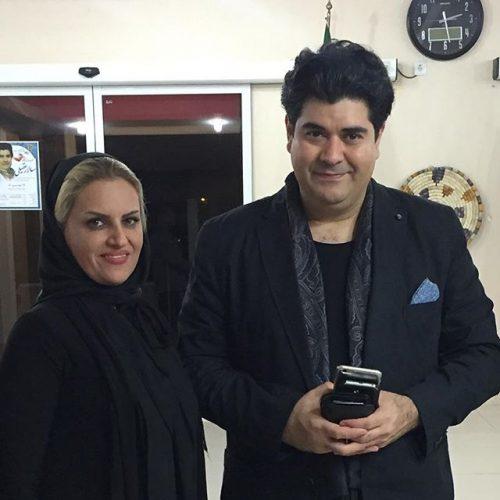 عکس سالار عقیلی و همسرش حریر شریعت زاده + بیوگرافی