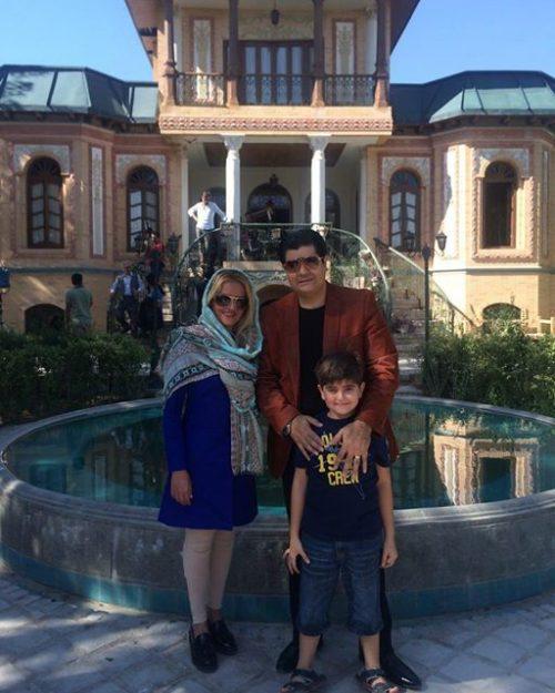 عکس خانوادگی سالار عقیلی + پسرش ماهور با بیوگرافی