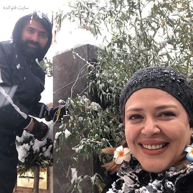 عکسبهاره رهنما و همسرش