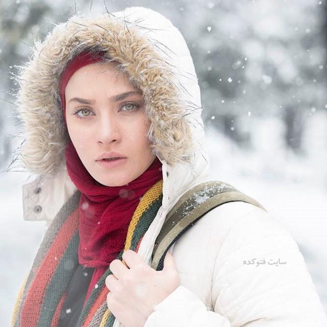 عکس ساناز سعیدی بازیگر زن + بیوگرافی کامل