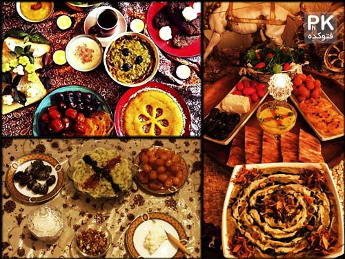 تزیین سفره افطار 94 شیک و قشنگ,عکس سفره افطاری شیک  وقشنگ,مدل تزیین سفره افطاری برای مهمونی,تزیین سفره افطار ماه رمضان در سال 94,شیک ترین سفره افطار,افطاری